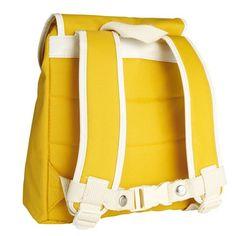 Blafre Kleuter Rugzak Geel (8,5 liter). Shop via things-we-love.nl #thingswelovenl #blafre #backpack #rugzak