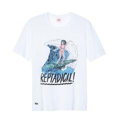 LACOSTE L!VE Artist Series T-shirts