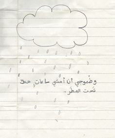 """Nizar :)  """"My ambition is to walk for hours with you under the rain."""