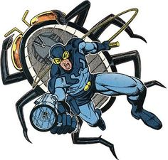 Blue Beetle   The late great Ted Kord..a.k.a Blue Beetle.
