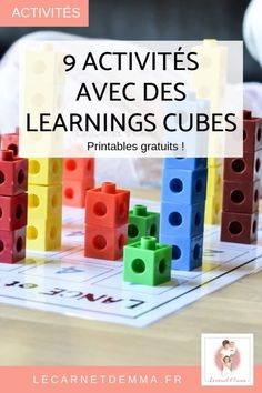 9 Idées d'activités avec les cubes learning de couleurs - Le Carnet d'Emma Classroom Management Strategies, Classroom Activities, Cubes Math, Autism Education, Activity Cube, French Education, Effective Learning, Student Behavior, French Classroom