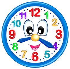 Cute Clock PNG Clip Art