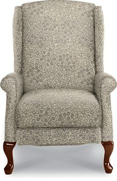 Kimberly High Leg Recliner by La-Z-Boy in Sterling fabric