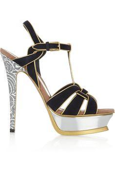 #Stunning Women Shoes #Shoes Addict #Beautiful High Heels #Wonderful Shoes #Shoe Porn  YSL