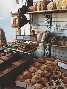 Baked goods abound in Hobart's Daci and Daci Bakery. #hobart #food #tasmania #discovertasmania Image Credit: lifeandco