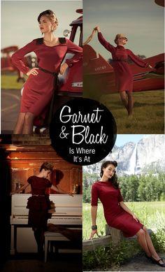 garnet & black is where it's at