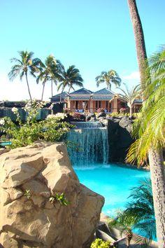 Hilton Waikoloa Village Resort, Big Island, Hawaii, Jan 2013