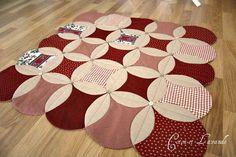 Coton et Lavande: patchwork rug and an interesting direction ...