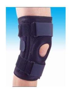 Knee support adalah alat bantu orthopedi yang diindikasikan untuk kondisi osteoartritis (OA) lutut dengan grade ringan. Terbuat dari bahan terbaik, dan dilengkapi dengan side bar pada sisi-sisi luar untuk stabilisasi sendi lutut. Tersedia dalam ukuran S, M, L, XL dan ready stock. #nasywamedika