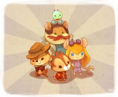 Chip and Dale: Rescue Rangers by Etty ||| Disney