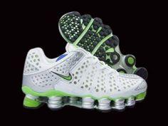 Nike Shox TL3 Men White Green Shoes