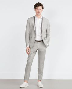 ZARA - MAN - TROUSERS WITH CONTRASTING POCKETS