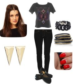 Summer concerts & rock and roll, created by cupcakecutie90 on Polyvore