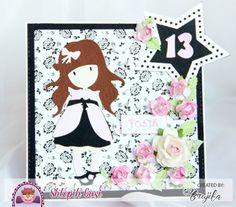 kartka urodzinowa dla dziewczynki