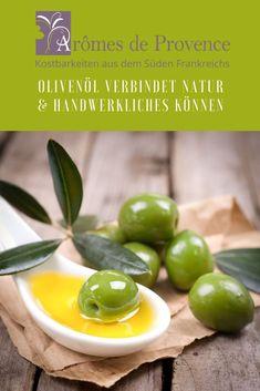 """Das fruchtige Aroma von hochwertigem Olivenöl aus der Provence ist unübertroffen. Die Bandbreite dieser Olivenöle reicht von fein- bis intensivfruchtig - je nach Zeitpunkt der Ernte - und hat immer """"Caractère"""", wie die Franzosen die leichte Schärfe im Abgang bezeichnen.  #olivenöl #geschenk #weihnachten #gesundheit #feinkost #onlineshop"""