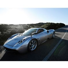 "Pagani Huayra - named after Huayra-tata, which means ""God of the winds"""