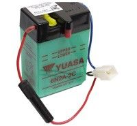 Yuasa 6N2A-2C Motorcycle Batteries