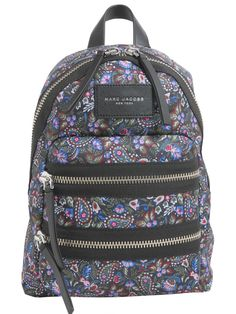 562ae59f015 MARC JACOBS Garden Paisley Mini Backpack.  marcjacobs  bags  leather   polyester  backpacks