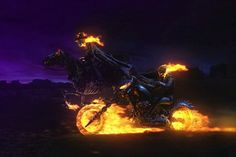 Ghost Rider Spirit Of Vengeance Movie Art Silk Poster Print Home Decor