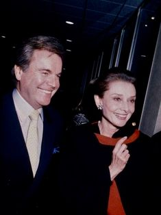 Audrey Hepburn and Robert Wagner