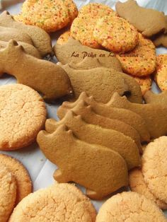 """These traditional molasses and ginger cookies also known as """"Cochinitos"""" for """"Little Pigs""""… a favorite childhood treat from the Mexican panadería (bake shop). This recipe is a more like a soft cookie, a small version of the real panaderíamarranitos, but with all the flavors! Yields 18 to 24 cookies Ingredients: 2/3 cup butter, softened 3/4... View Article"""