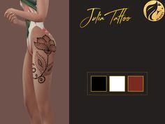 Murphy Sims — [MS] Julia Tattoo 3 colors DOWNLOAD Hope you like...