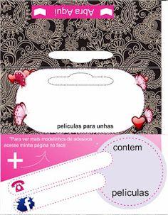 Carol Películas de Adesivos de Unhas: 70 Lindas Tag Personalizadas para colocar seu logo e contatos Grátis Map, Card Templates, Craft Sticks, Nail Stickers, Location Map, Maps