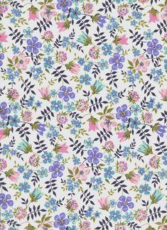 Edenham 19B - The Strawberry Thief Small Flowers, My Flower, Floral Flowers, Flower Art, Art Flowers, Vintage Flowers Wallpaper, Cute Wallpaper Backgrounds, Flower Wallpaper, Wallpapers