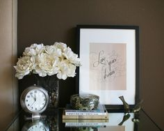 neato! bonito: SOUL: live your dream & free print download. this is actually on our nightstand!