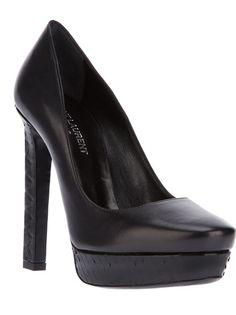 SAINT LAURENT Sapato Preto.