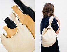 japanese knot bag - No tutorial, sólo foto. No aparece en el enlace.