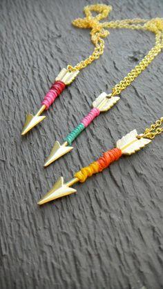 TIPS Arrow Necklaces