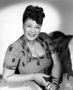 "Ella Fitzgerald:   ""It isn't where you came from,   its where you're going that counts."""