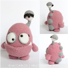 """The annual design contest at Amigurumipatterns.net is on! This year's theme is """"Monsters"""". Scary, cute and adorable monsters are out and about and it's now time to vote for …"""