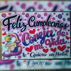Pancartas para todo tipo de ocasiones! Expresa tus ideas... #mgntart #arte #pancartas #diseñosmanuales #likeforfollow #liker #anaco #venezuela