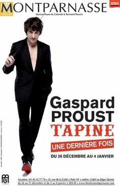 Gaspard Proust Tapine Gaspard, Dan, Concerts, Flow, People, Fictional Characters, Madeleine, Stand Up Comedians, Switzerland