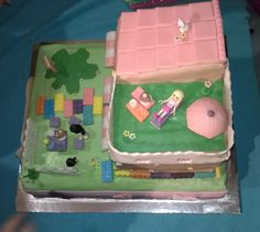 torta lego friends