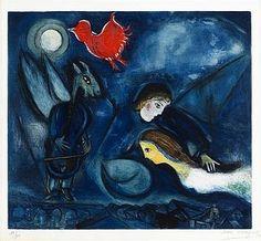 #marcchagall #marcchagall #Marc-Chagall #Chagall http://www.johanpersyn.com/chagall-cubist-colours/