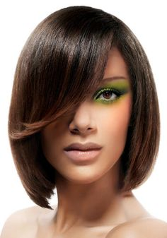 Paul Mitchell - Graduated bob with sweeping fringe