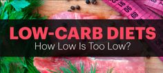 Low Carb Diet Vs High Carb Diet - Ideal Healthy Diet for Weight Loss