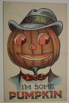 Vintage Halloween Postcard | by riptheskull