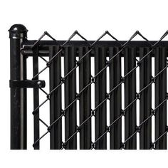8 Best Black Chain Link Fence Images Black Chain Link