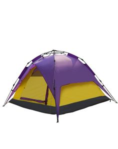 "Makino 2-3 Person Outdoor Instant Tent with Rainfly 0091 Purple. Open size (length * width * height) : 82.68"" * 74.80"" * 51.18"" Package size (length * width * height) :31.50"" * 7.07"" * 7.07"". Excellent Quality Ripstop 210T polyester rainfly and 210D oxford waterproof ground sheet. Easy Set Up - Pre-assembled poles for fast setting up and folding down. Gear Organized - One hook on the roof for hanging the lamp or other light stuff. Rainfly can be used separately with the moisture proof..."