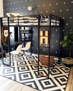 How COOL would you feeling if this was your room? 😎😎😎 Big boy room for the coolest kid around. Cool Boys Room, Cool Kids Rooms, Boys Room Ideas, Cool Bedrooms For Boys, Boy Bedrooms, Boys Bedroom Decor, Room Ideas Bedroom, Decoration Inspiration, Decor Ideas