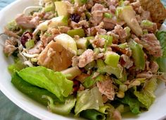 Make and share this Apple Chicken Salad recipe from Food.com.