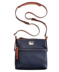Dooney   Bourke Dillen II Letter Carrier Handbags   Accessories - Macy s f5b25e37a183d