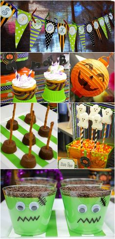 Adorable and easy Halloween party ideas | lillypaul designs