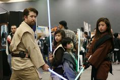 This family of Jedi Knights: