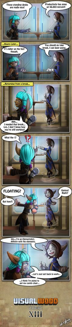VisualWood Comic 13 by Ekaki-no-yami.dev... on @deviantART. Well aren't you just special!