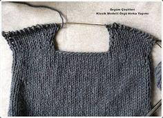 """Giacca """" kanso"""" Purl Soho in italiano Knit Cardigan Pattern, Crochet Headband Pattern, Sweater Knitting Patterns, Jacket Pattern, Knitting Designs, Knit Patterns, Free Knitting, Crochet Patterns Free Women, Skirt Pattern Free"""
